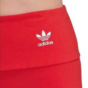 New! Adidas red and white workout 🏋️♀️ pants